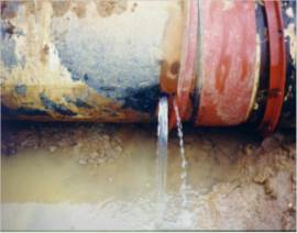 Stray Current Corrosion of Water Pipeline