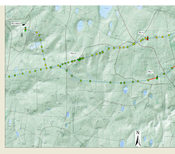 Map- Topographic and GIS Representation of Condition Assessment Data