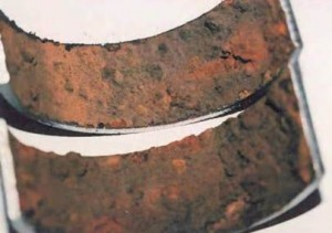 Cross Section - Corroded Pipeline Surface